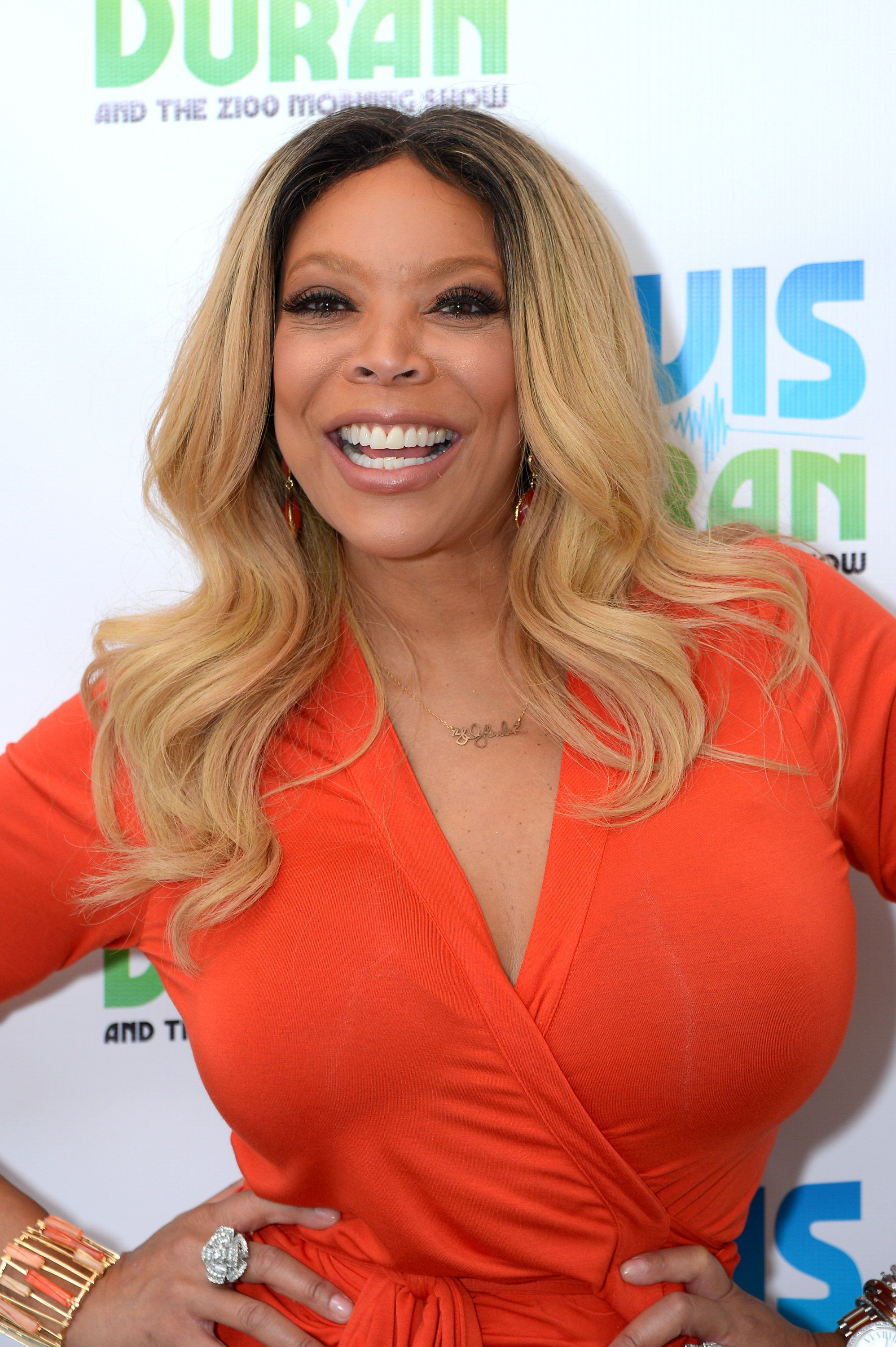 NEW YORK, NY - SEPTEMBER 08:  TV host Wendy Williams poses for a photo during The Elvis Duran Z100 Morning Show at Z100 Studio on September 8, 2015 in New York City.  (Photo by Andrew Toth/Getty Images)