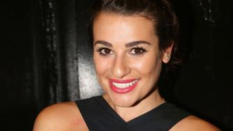 NEW YORK, NY - SEPTEMBER 07:  (EXCLUSIVE COVERAGE) Lea Michele poses at the Diamond Horseshoe/The Paramount Hotel Bar & Grill on September 7, 2015 in New York City.   Lea Michele saw former 'Glee' and 'Spring Awakening costar Jonathan Groff  in the hit musical 'Hamilton' on Broadway over the weekend.  (Photo by Bruce Glikas/FilmMagic)