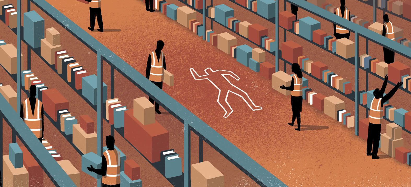 The Life and Death of an Amazon Warehouse Temp - The Huffington Post