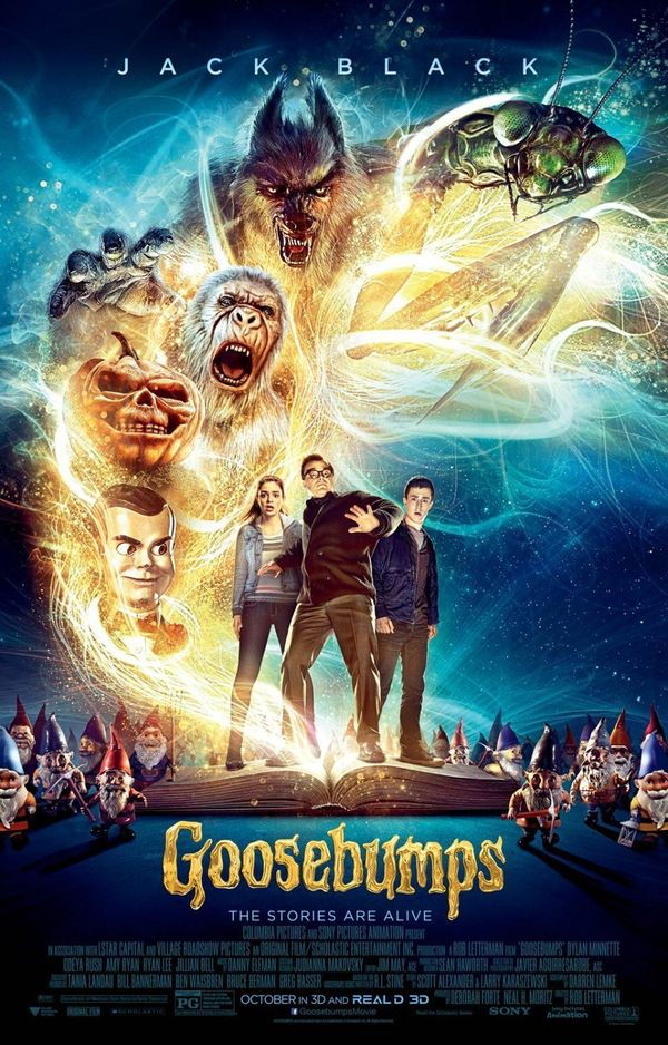 Feel likeseeing a movie on the big screen? The demons and monsters of R.L. Stine's iconic series come to life in this n