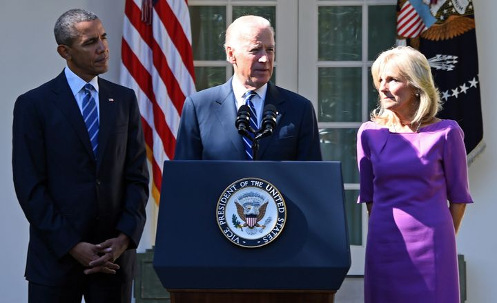 Biden announced his decision during a press conference at the White House.