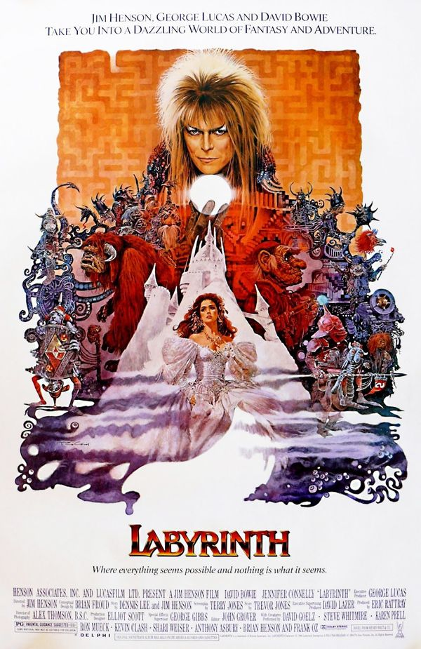 No Halloween -- or life, for that matter -- is complete without seeing David Bowie as the Goblin King.