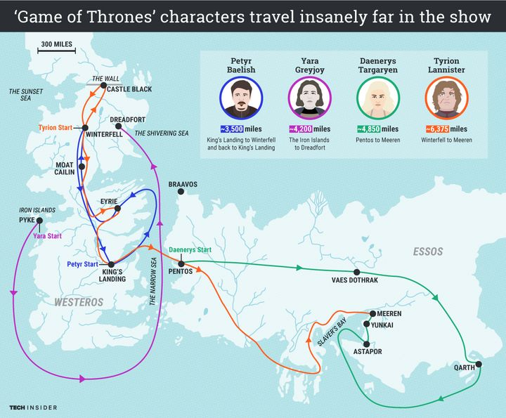 This Fun Map Highlights A 'Game Of Thrones' Plot Hole | HuffPost Game Of Thrines Map on fire and blood, dallas map, a game of thrones, works based on a song of ice and fire, qarth map, valyria map, a storm of swords, jericho map, a clash of kings, a golden crown, the kingsroad, a storm of swords map, downton abbey map, bloodline map, tales of dunk and egg, spooksville map, a game of thrones collectible card game, the prince of winterfell, walking dead map, game of thrones - season 1, the pointy end, jersey shore map, star trek map, clash of kings map, camelot map, justified map, sons of anarchy, got map, themes in a song of ice and fire, narnia map, a game of thrones: genesis, winterfell map, lord snow, game of thrones - season 2, winter is coming, guild wars 2 map, gendry map, world map,