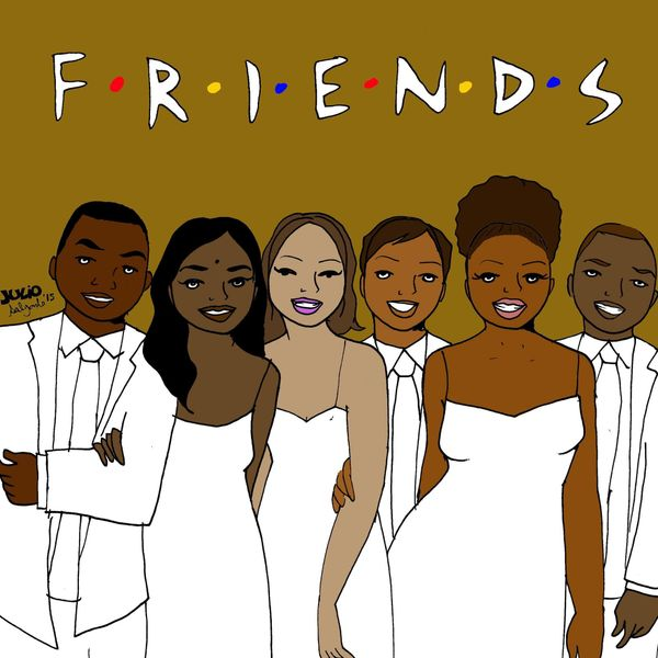 """""""My version of 'Friends' is set in Oakland. They are mostly college students of color that met at a multicultural center. You"""