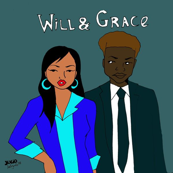 """""""Grace is a Korean-American fashion designer living in San Francisco with her best friend Will, a black gay immigration lawye"""