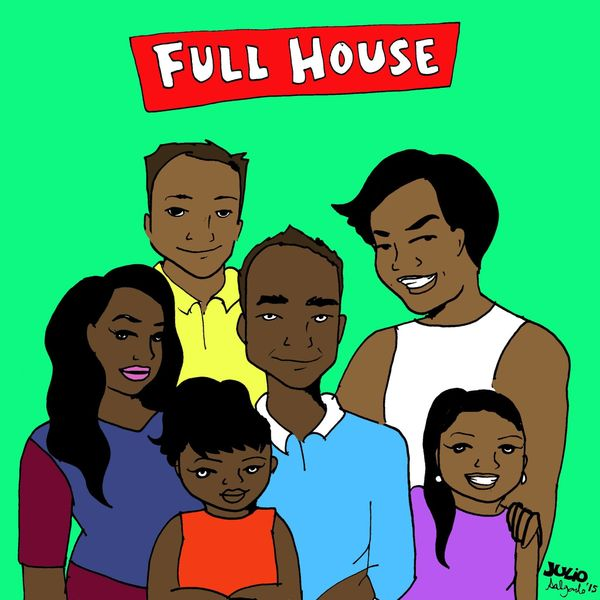 """""""This 'Full House' is a Filipino family and it's set in Daly City. The oldest daughter is undocumented and the youngest two w"""