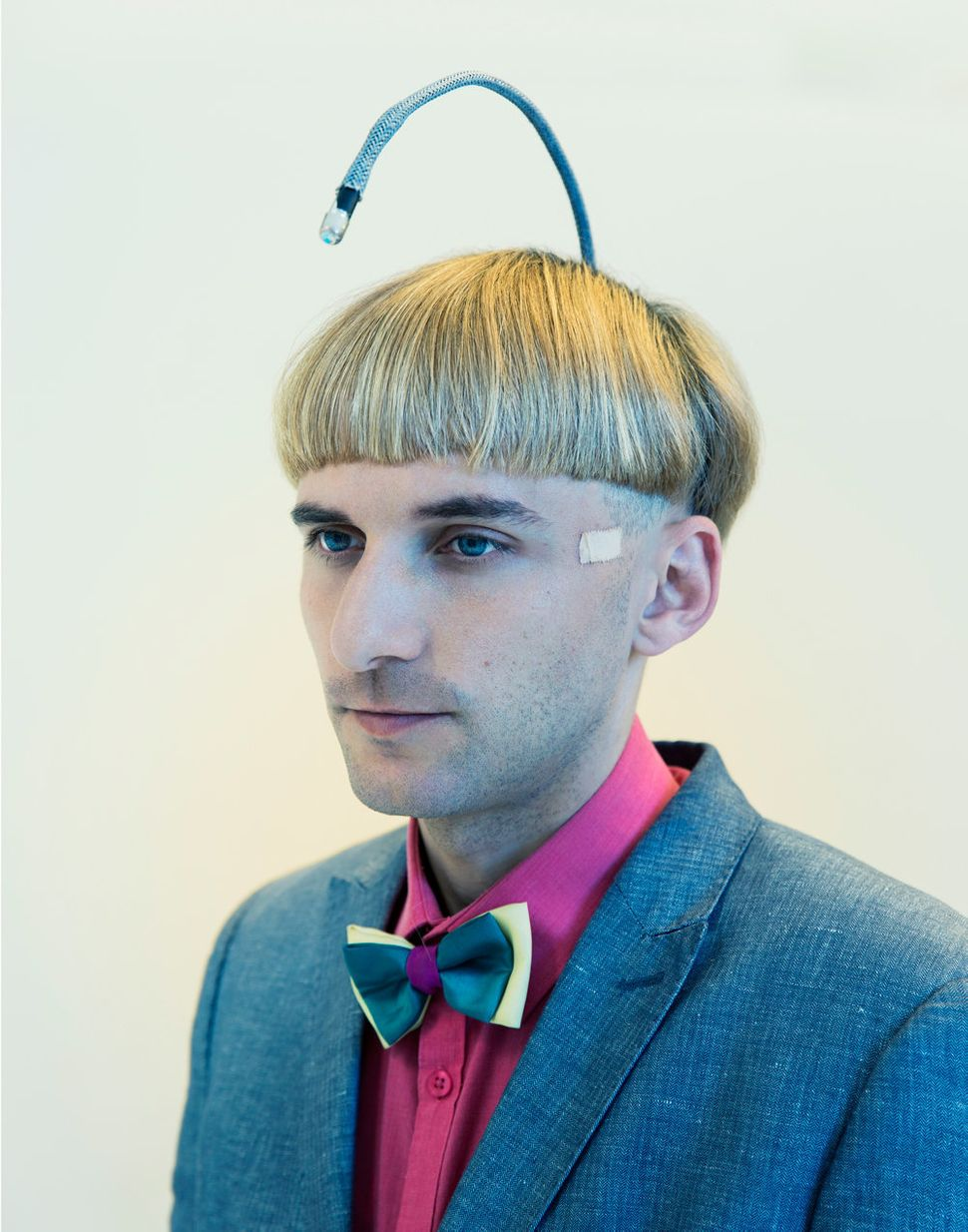 Neil Harbisson is widely considered to be the worlds first officially recognized cyborg.  Born with a rare form of color