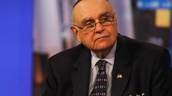 Leon Cooperman, chairman and chief executive officer of Omega Advisors Inc., listens during a Bloomberg Television interview in New York, U.S., on Tuesday, Oct. 13, 2015. Cooperman said the U.S. Securities and Exchange Commission needs to address market structure problems caused by super-fast computers. Photographer: Chris Goodney/Bloomberg via Getty Images