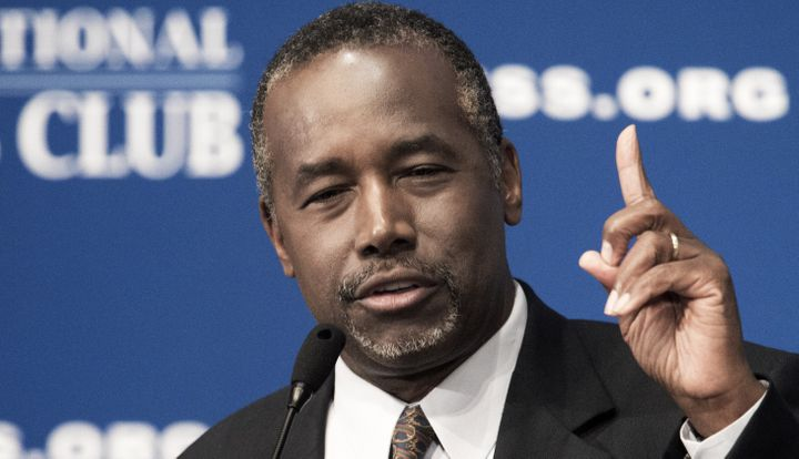 Ben Carson, who is seeking the GOP nomination for president, is now in first place in Iowa polling.