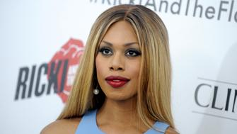 """Laverne Cox attends the """"Ricki And The Flash"""" premiere at the AMC Lincoln Square Theater in New York on August 3, 2015."""