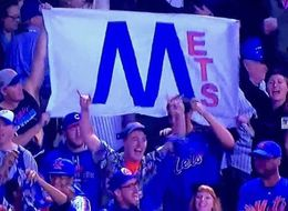 These New York Mets Fans Are Expert Chicago Cubs Trolls