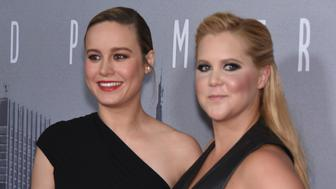 NEW YORK, NY - JULY 14:  Brie Larson and Amy Schumer attend the 'Trainwreck' New York Premiere at Alice Tully Hall on July 14, 2015 in New York City.  (Photo by Dimitrios Kambouris/Getty Images)