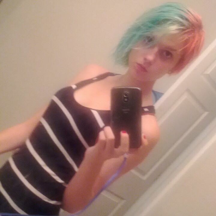 Authorities are trying locate 16-year-old Harlea Hunter Webster.