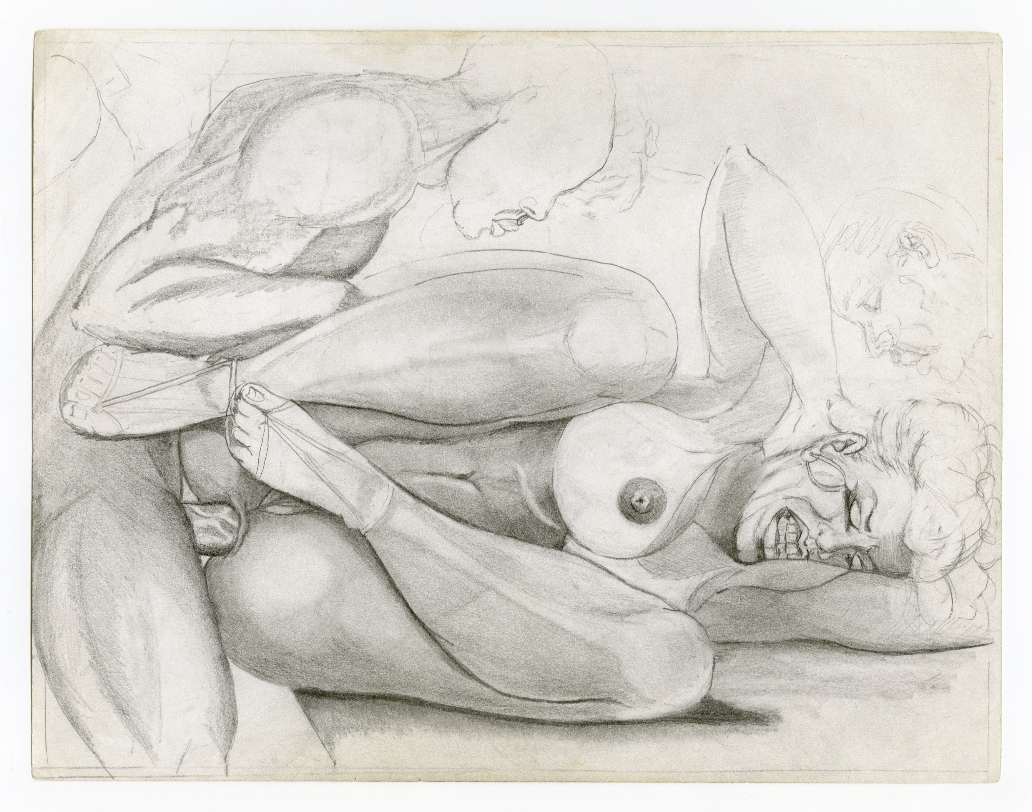 The of human figure pencil drawings