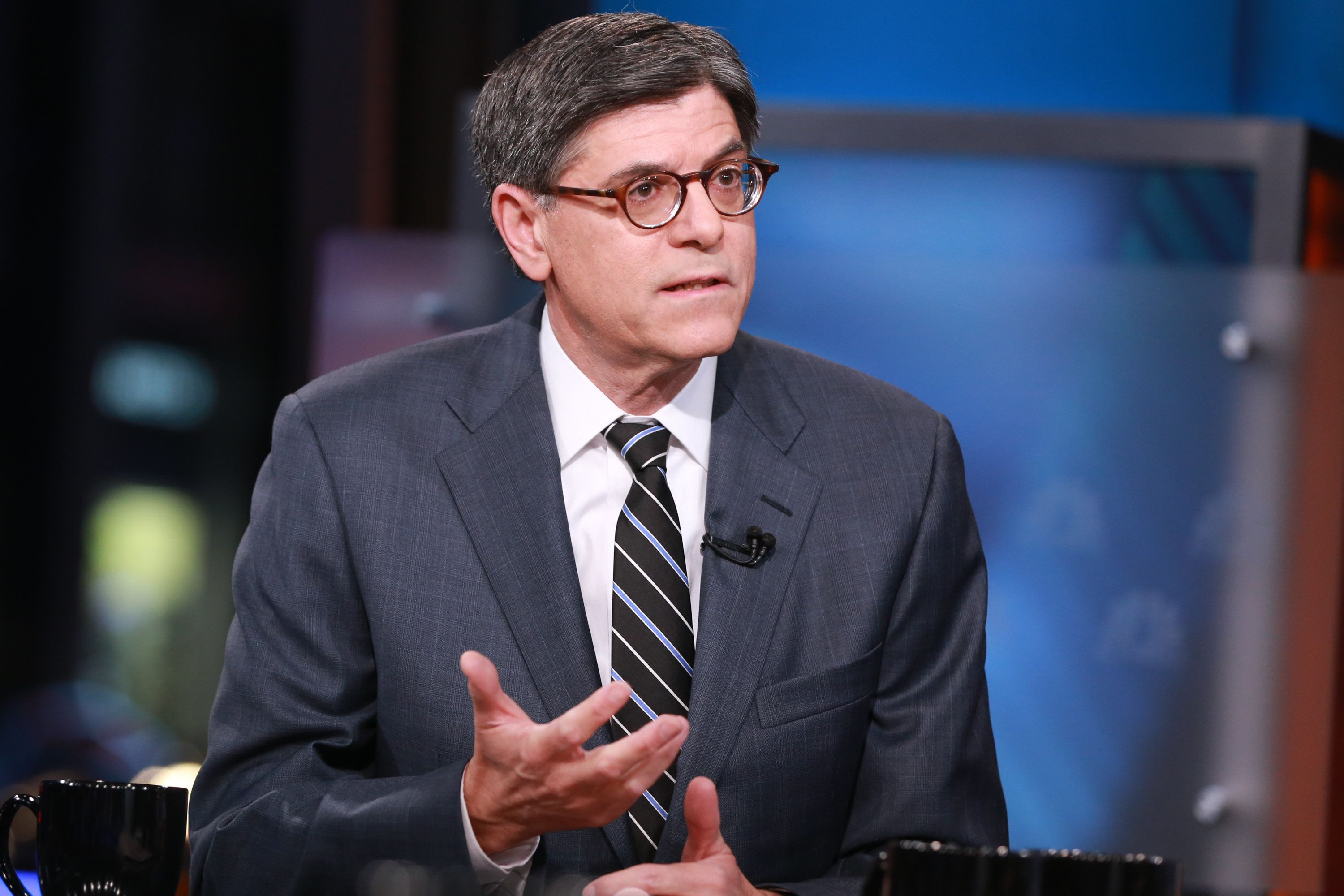 "Treasury Secretary Jack Lew has asked Congress to ""raise the debt limit without delay."""