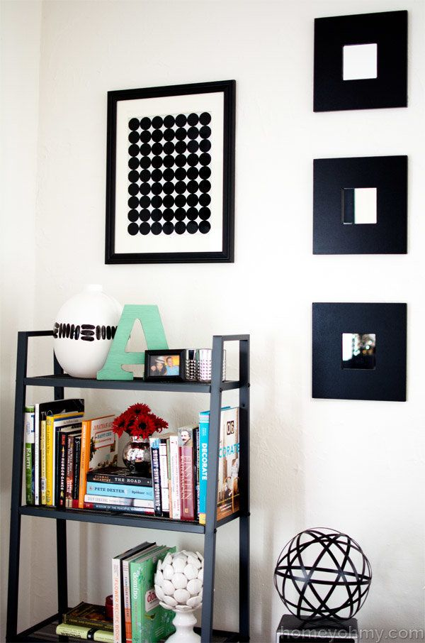 """<a href=""""http://www.homeyohmy.com/diy-graphic-circle-wall-art/"""" target=""""_blank"""">Show your artistic side and give Homey Oh My'"""