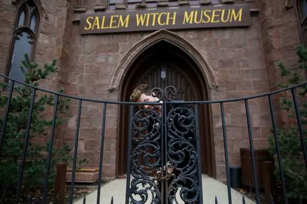 "Say ""Salem"" anywhere in the U.S. and images are conjured of colonial-era woman on trial for alleged misdeeds; perhaps lines f"