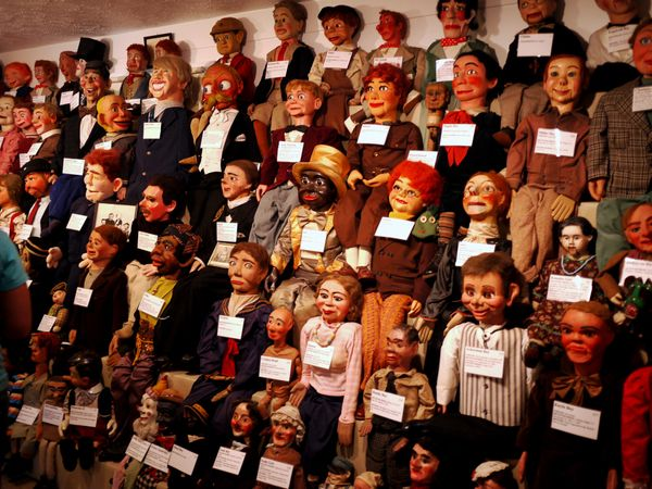 Three simple words for you, my friends: Museum. Of. Ventriloquism.
