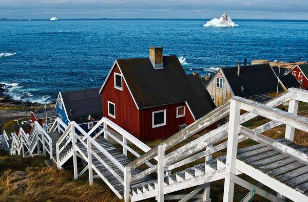Upernavik, Greenland.