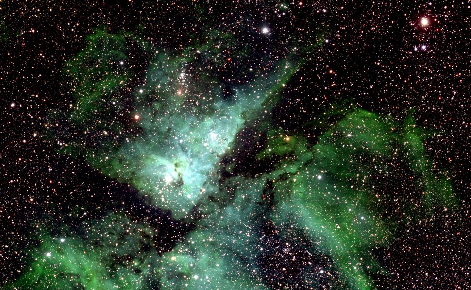 This is just a small section of the Milky Way photo showing Eta Carinae.