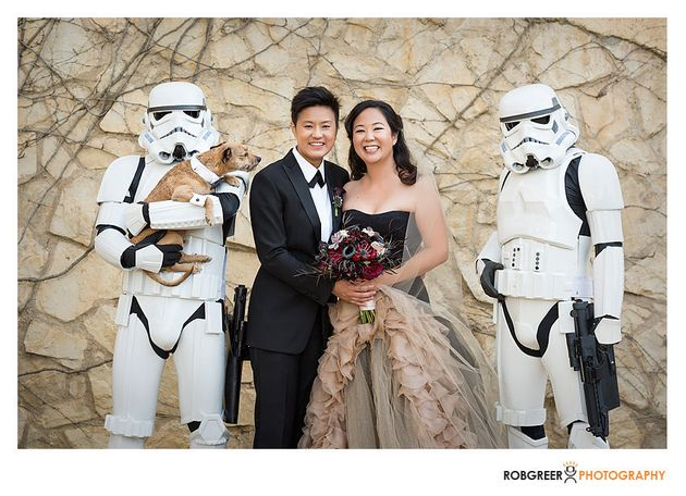 This Is What It Looks Like When A 'Star Wars' Nerd Marries ...
