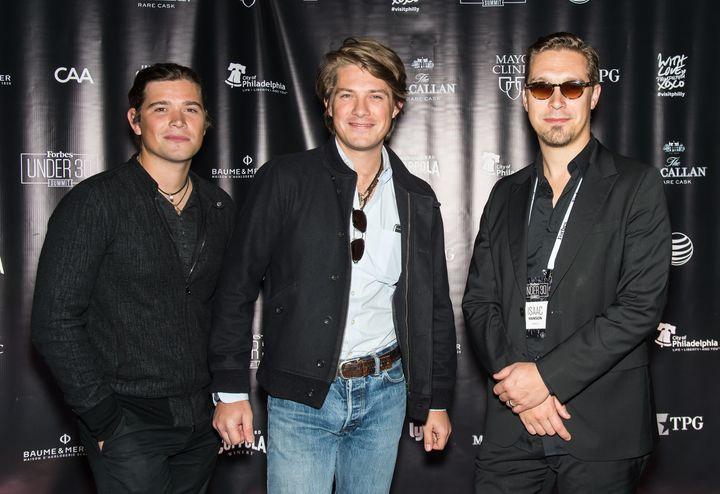 Zac, Taylor and Isaac Hanson, 2015