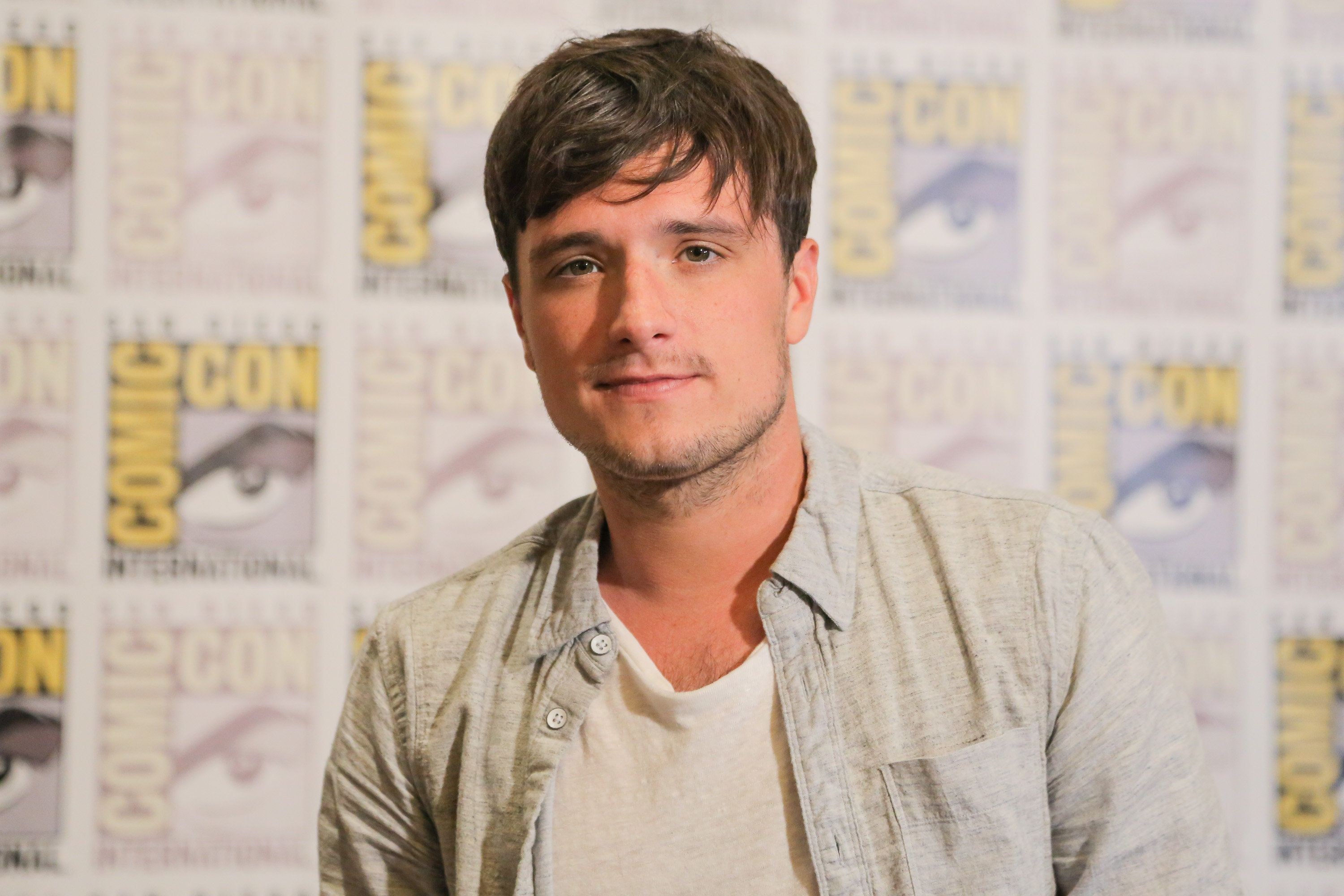 SAN DIEGO, CA - JULY 09:  Actor Josh Hutcherson attends Comic-Con International on July 9, 2015 in San Diego, California.  (Photo by Chelsea Lauren/WireImage)