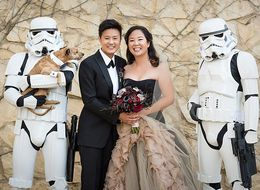 You'll Wish You Scored An Invite To This 'Star Wars'-Themed Wedding