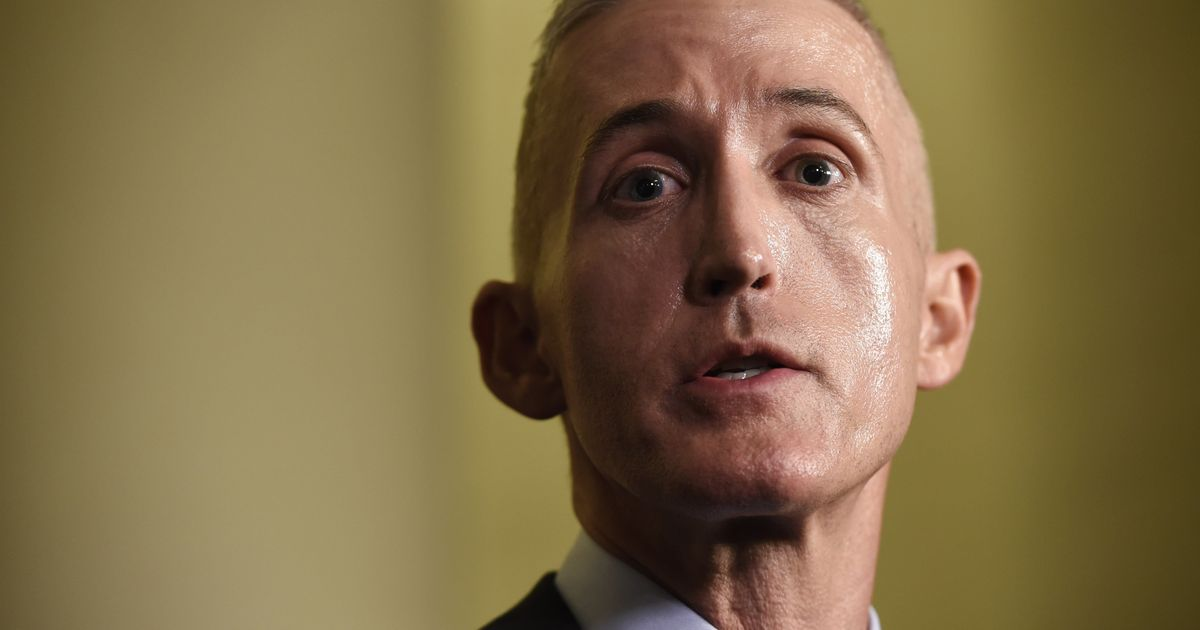 Trey Gowdy And His GOP Colleagues Embarrassed Themselves