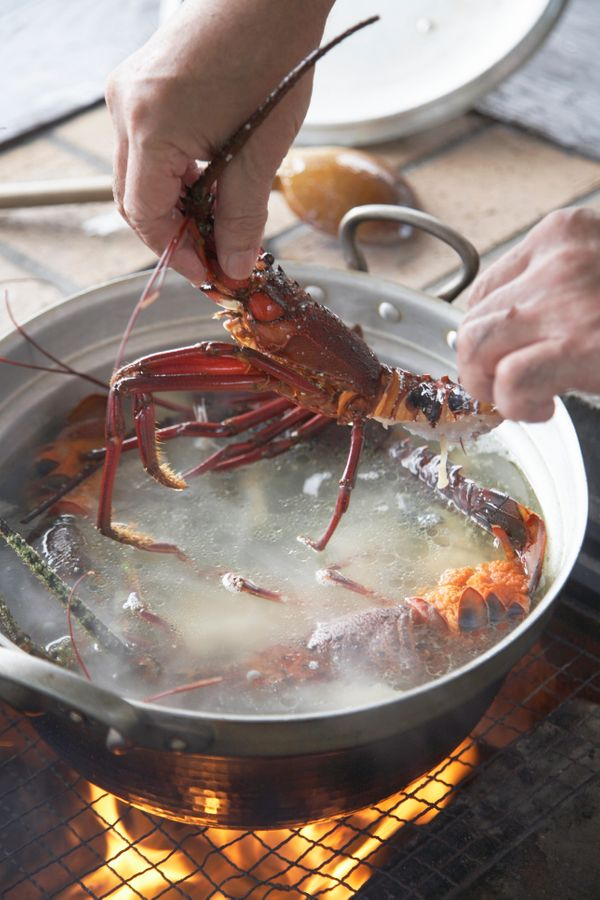 """""""You have to really know food flavors and trust your skills not to hide the lobster flavor,"""" Richards said. """"If you are going"""
