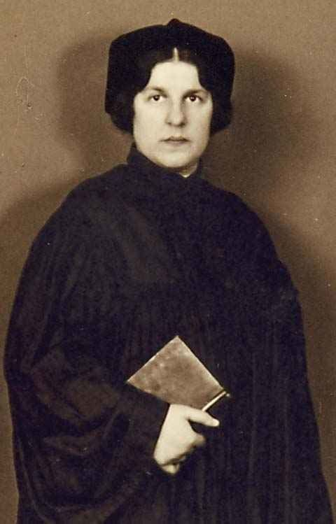 Regina Jonas, the first woman rabbi.