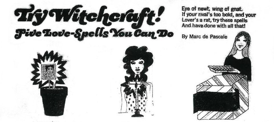 How To Win Yourself A Man Using Witchcraft, According To A 1973