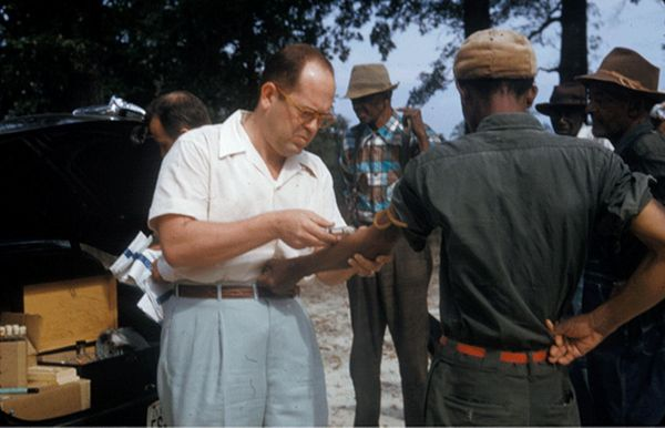 tuskegee experiments They say thomas parran jr was involved in infamous tuskegee syphilis  experiments photo of bill schackner bill schackner pittsburgh post-.