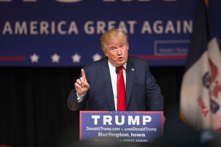 Republican presidential candidate Donald Trump told super PACsclaiming to support him tocease operations.