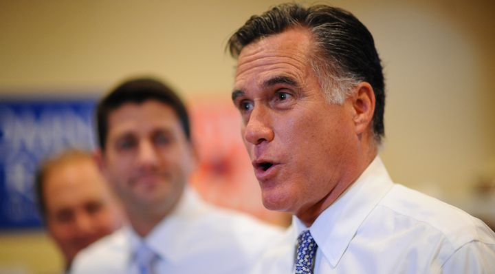 Mitt Romney appeared to reverse his position on Obamacare Friday.