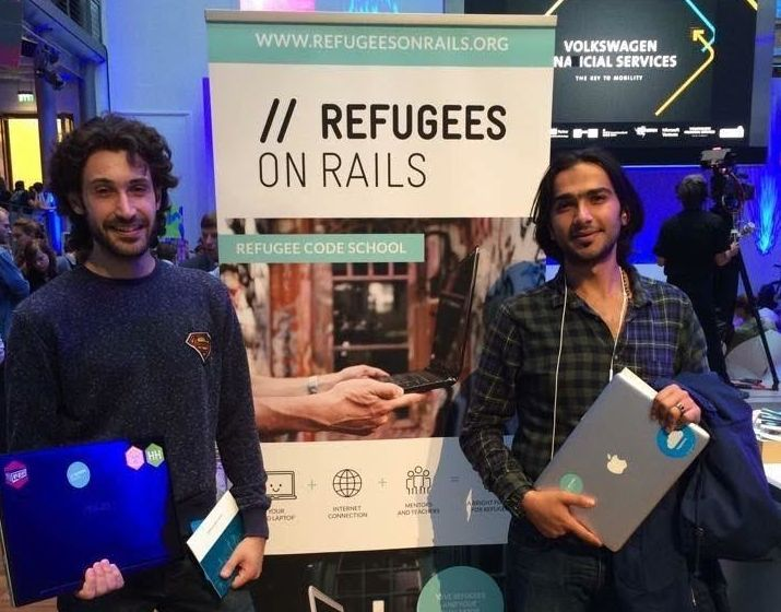 The nonprofit has been talking to refugees around Berlin to understand how to make their lessons as accessible and useful as