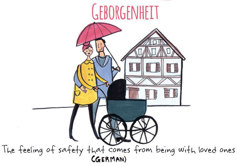 Geborgenheit definition