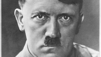 Portrait of Adolph Hitler