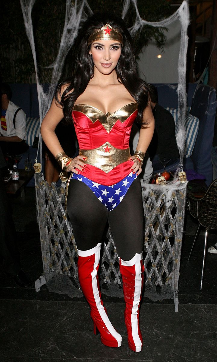 Kim Kardashian's Halloween Costumes Deserve A Round Of Applause ...