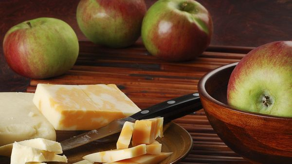 New Englanders plunk a wedge of cheddar cheese on top of a slice of apple pie, but if you aren't up for that whole rolling-ou