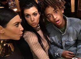 Jaden Smith Looks Surprised As Hell With The Kardashians