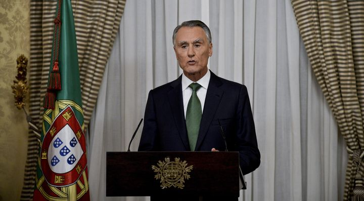 Portuguese President Anibal Cavaco Silva appointed a center-right minority government on Thursday, Oct. 22, 2015, even though