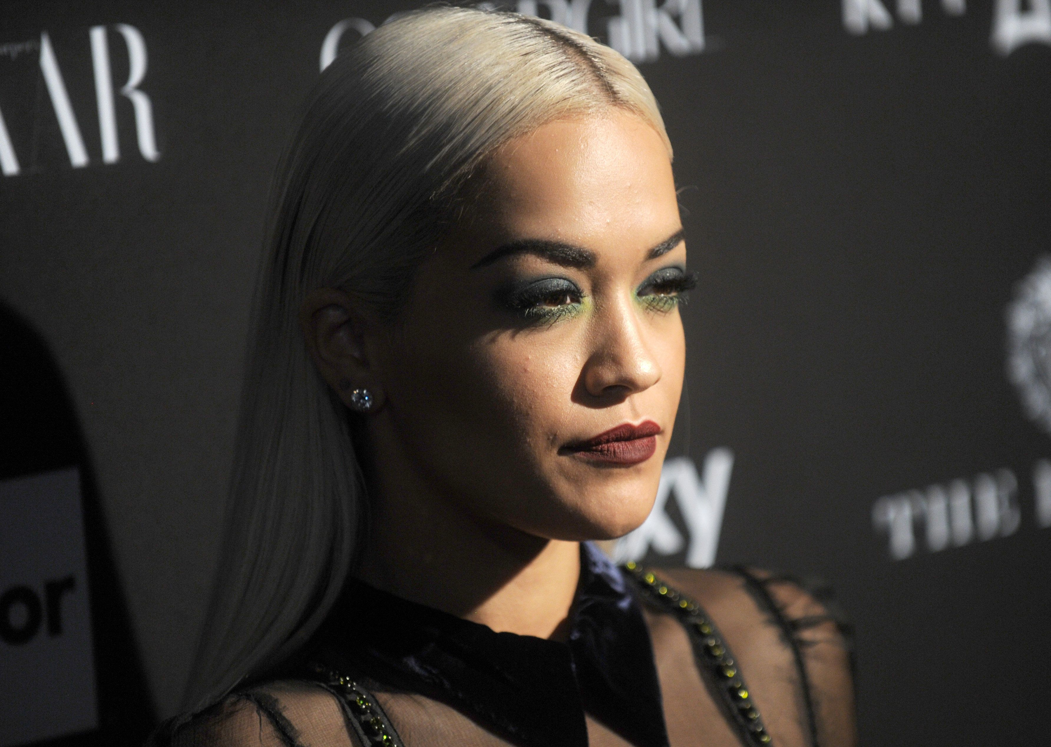 Rita Ora at the Harper's Bazaar Icons event at The Plaza Hotel in New York City, NY, USA, on September 16, 2015.