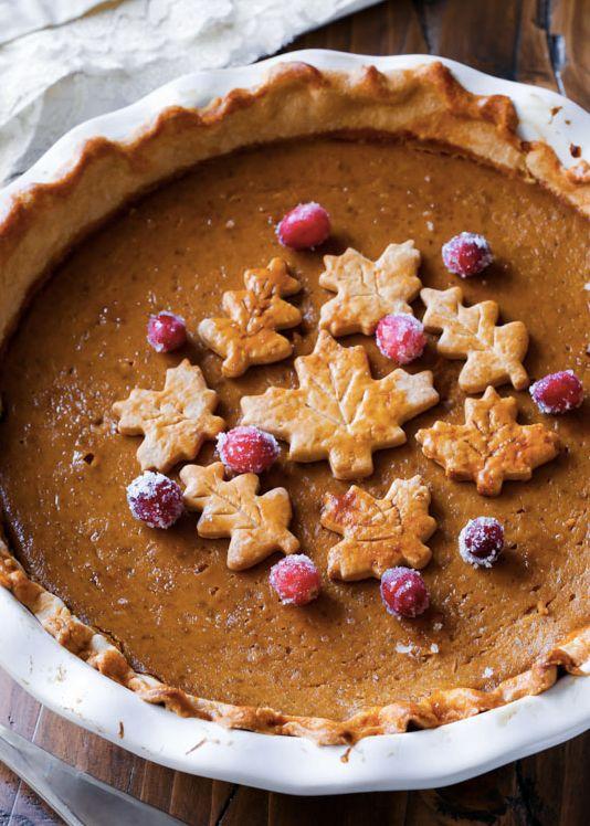 """<strong>Get the <a href=""""http://sallysbakingaddiction.com/2014/10/26/the-great-pumpkin-pie-recipe/"""" target=""""_blank"""">Festive P"""