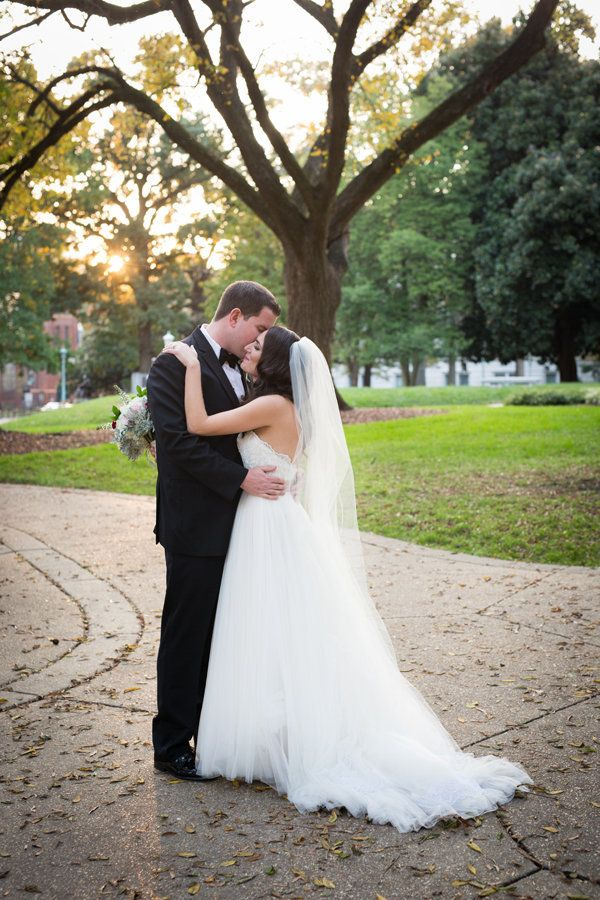 """Monica and Kevin were married on a beautiful fall afternoon at historic Haywood Hall in Raleigh, North Carolina."" -&nbs"