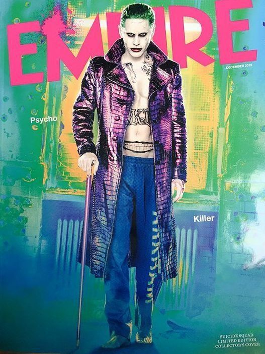 Jared Leto Covers Empire As The Joker In All His Creepy