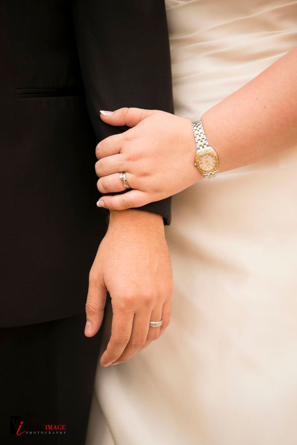 """Nicole and Robert were married on Saturday at the Hilton Garden Inn and were surrounded by all of their closest friends"