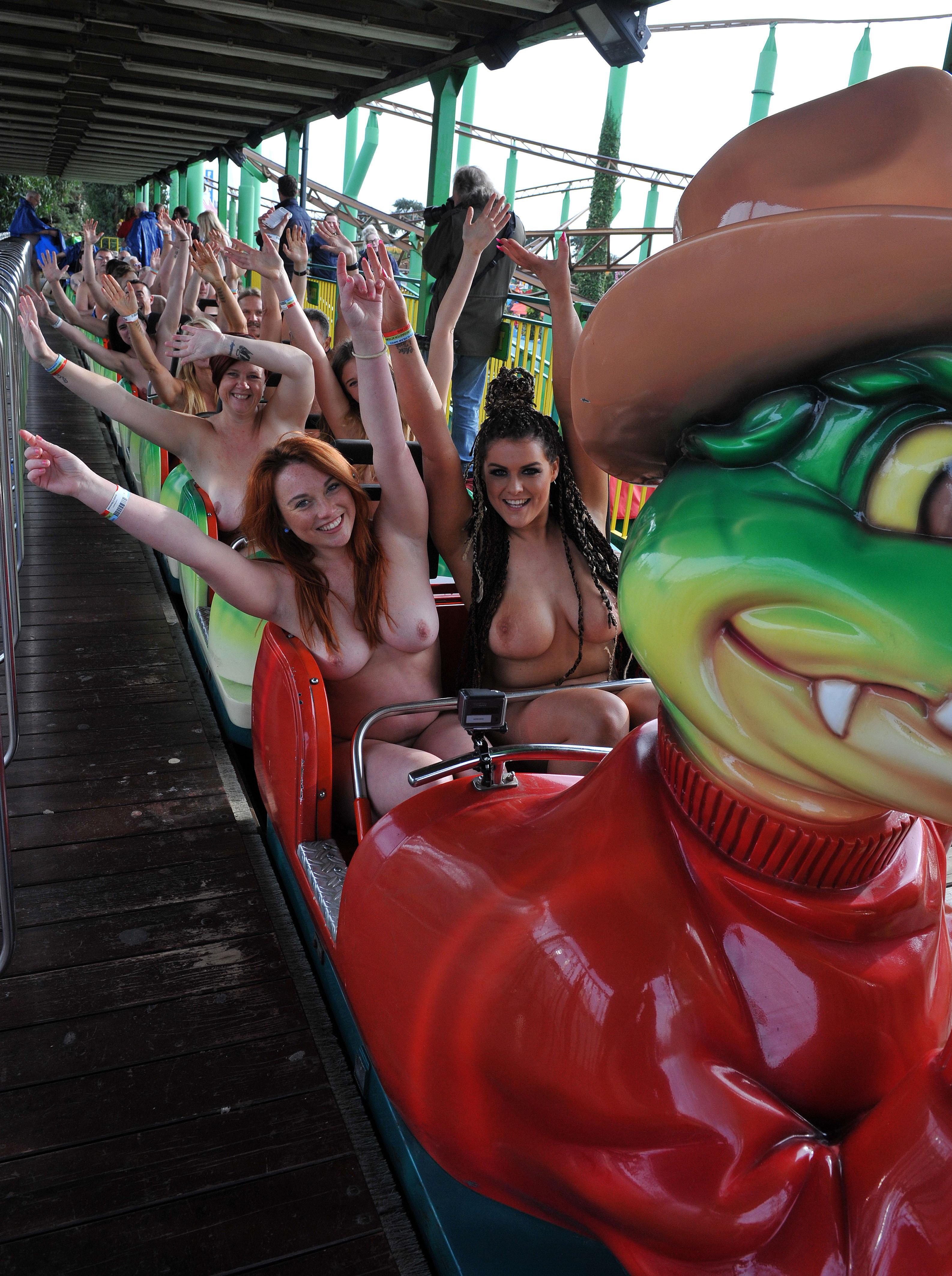 Roller coaster nude