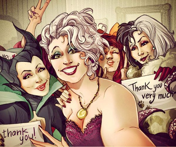 If Your Favorite Disney Characters Had Instagram Theyd Probably Take Selfies Too