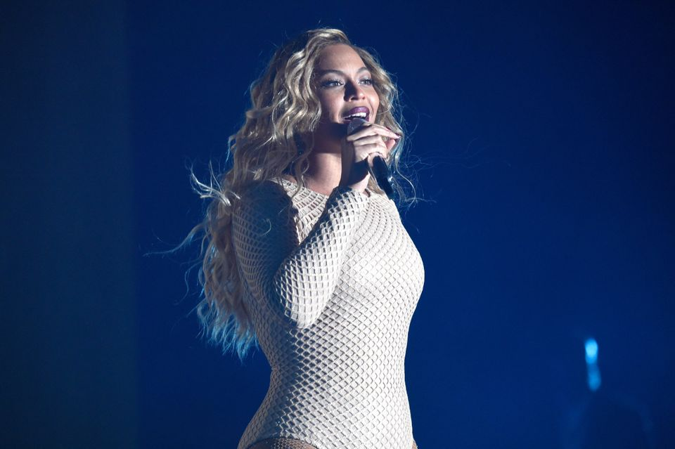NEW YORK, NY - SEPTEMBER 26: Beyonce performs onstage during 2015 Global Citizen Festival to end extreme poverty by 2030 in C